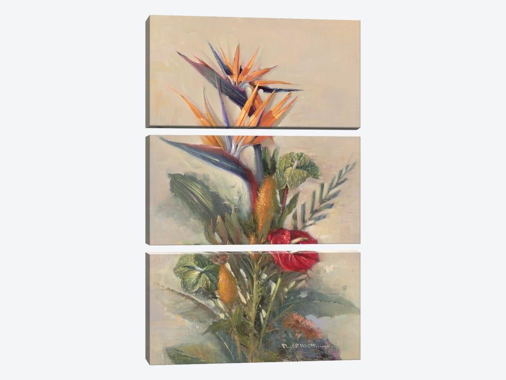 Tropical Paradise by Paul Mathenia 3-piece Canvas Art Print