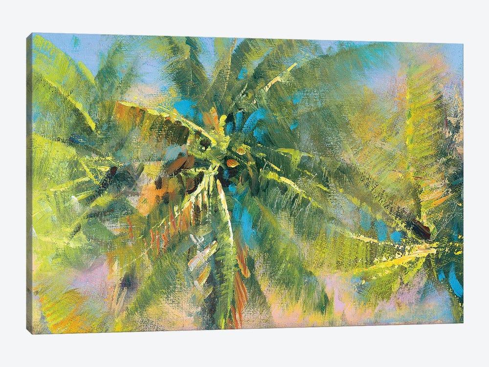 Palm Collage by Paul Mathenia 1-piece Canvas Artwork