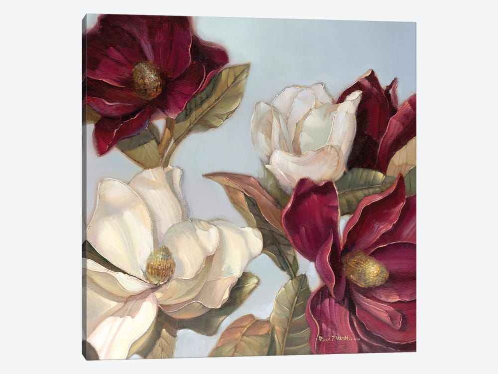 Magnolia by Paul Mathenia 1-piece Canvas Art Print