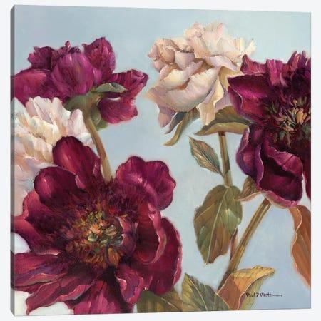 Peony Canvas Print #PMA7} by Paul Mathenia Canvas Art Print