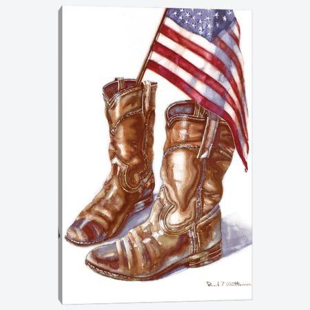 Cowboy Boots I Canvas Print #PMA8} by Paul Mathenia Canvas Artwork