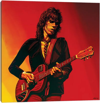 Keith Richards III Canvas Art Print