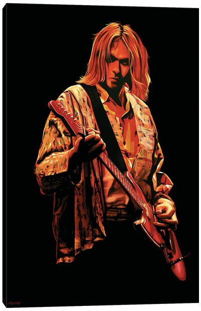 Kurt Cobain I Canvas Art Print