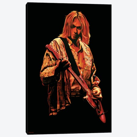 Kurt Cobain I Canvas Print #PME101} by Paul Meijering Canvas Art