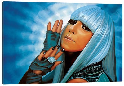 Lady Gaga Canvas Art Print