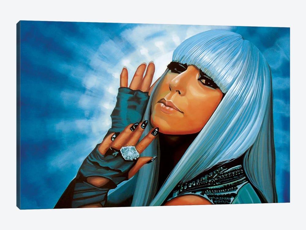 Lady Gaga by Paul Meijering 1-piece Canvas Art Print