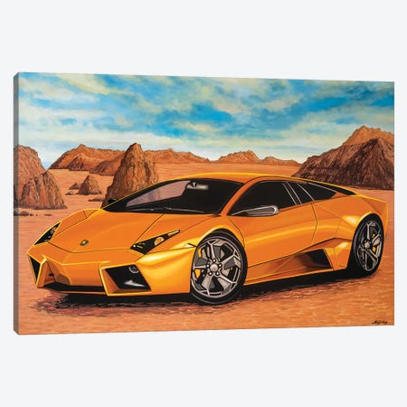 Lamborghini Reventon Canvas Print #PME105} by Paul Meijering Canvas Art Print