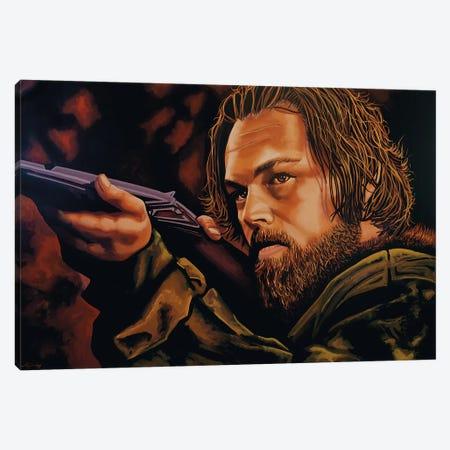 Leonardo Dicaprio Canvas Print #PME106} by Paul Meijering Art Print