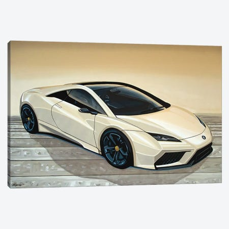 Lotus Esprit Canvas Print #PME108} by Paul Meijering Canvas Art