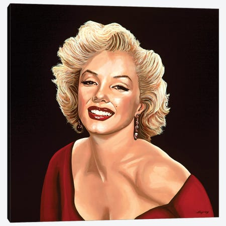 Marilyn Monroe III Canvas Print #PME112} by Paul Meijering Canvas Print