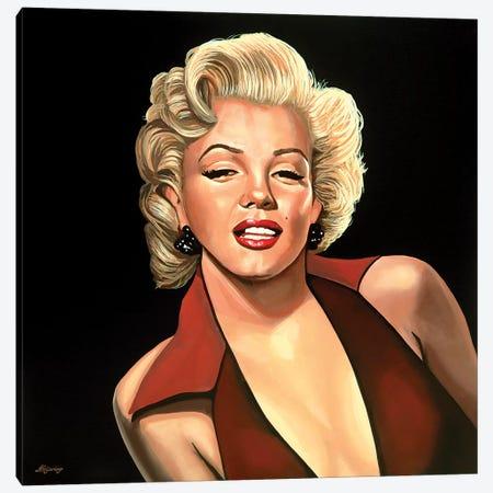 Marilyn Monroe IV Canvas Print #PME113} by Paul Meijering Art Print