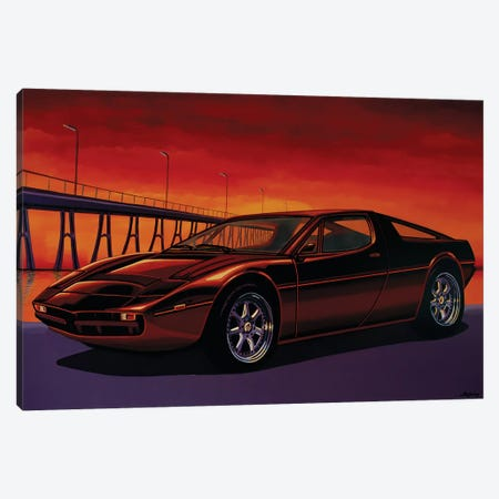 Maserati Merak Canvas Print #PME116} by Paul Meijering Canvas Art