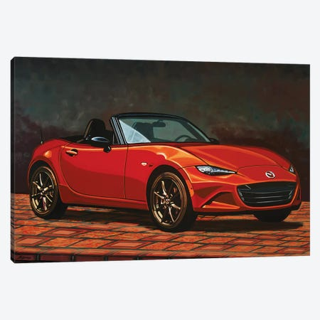 Mazda Mx5 Canvas Print #PME117} by Paul Meijering Canvas Art