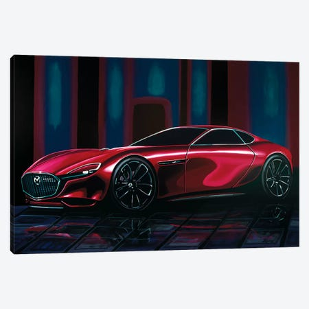 Mazda Rx Vision Canvas Print #PME118} by Paul Meijering Canvas Print