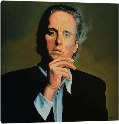 Michael Douglas Canvas Art Print