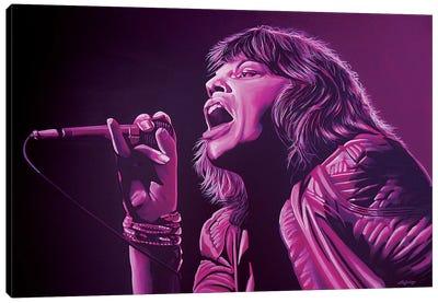 Mick Jagger II Canvas Art Print