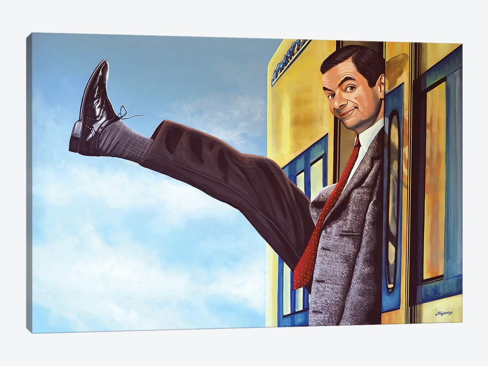 Mister Bean by Paul Meijering 1-piece Canvas Art Print