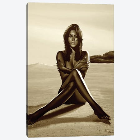 Nude Woman I Sepia Canvas Print #PME127} by Paul Meijering Canvas Art Print