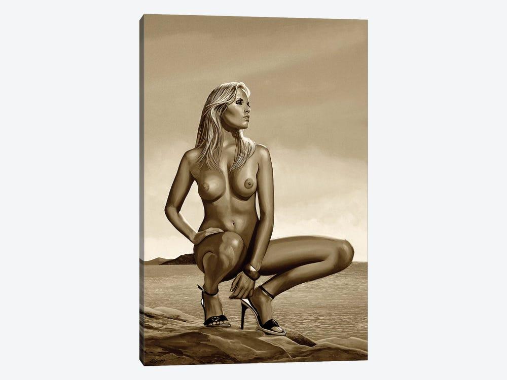 Nude Woman II Sepia by Paul Meijering 1-piece Canvas Wall Art