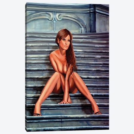 Nude Woman IV Canvas Print #PME129} by Paul Meijering Canvas Wall Art