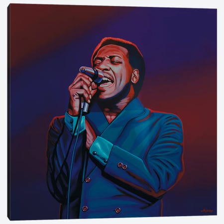 Otis Redding II Canvas Print #PME130} by Paul Meijering Art Print