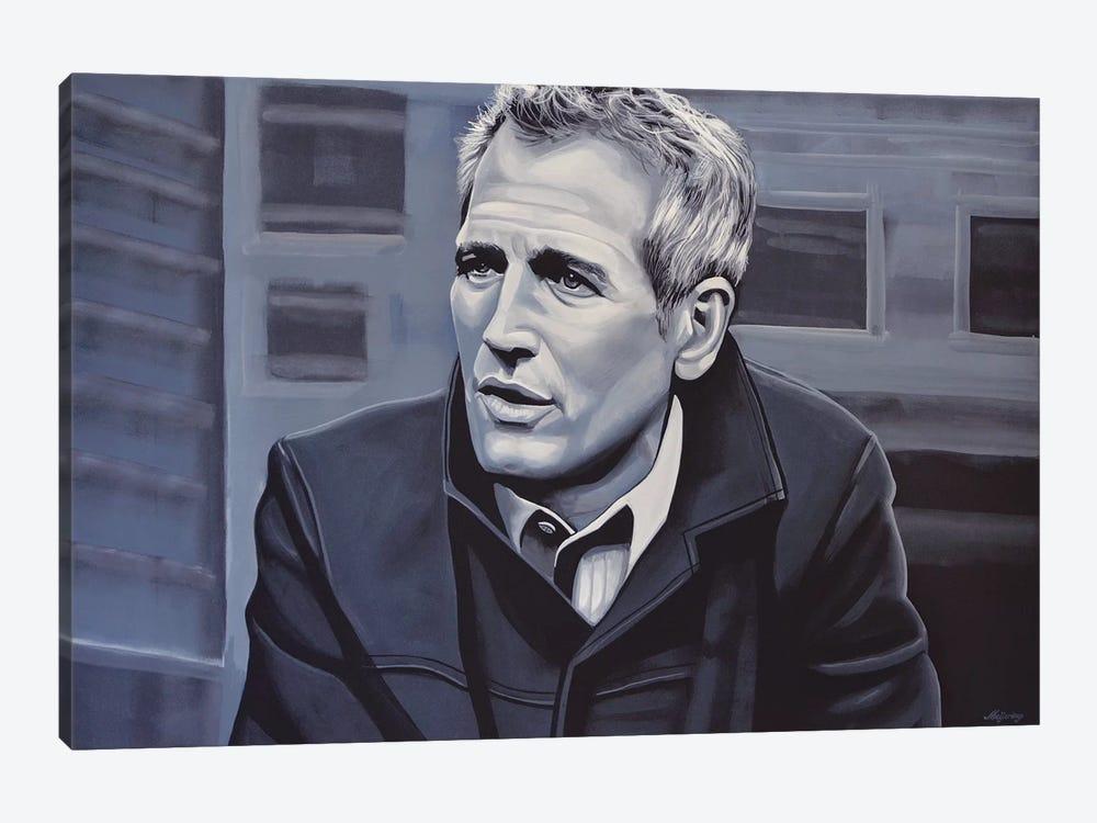 Paul Newman by Paul Meijering 1-piece Canvas Art