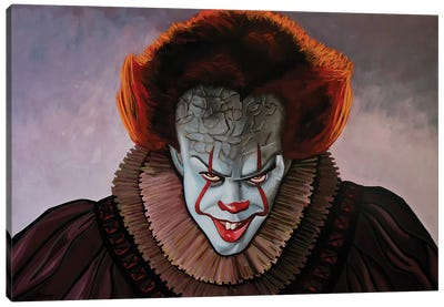 Pennywise II Canvas Art Print