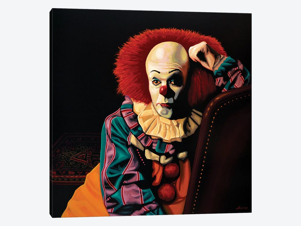 Pennywise It by Paul Meijering 1-piece Canvas Artwork
