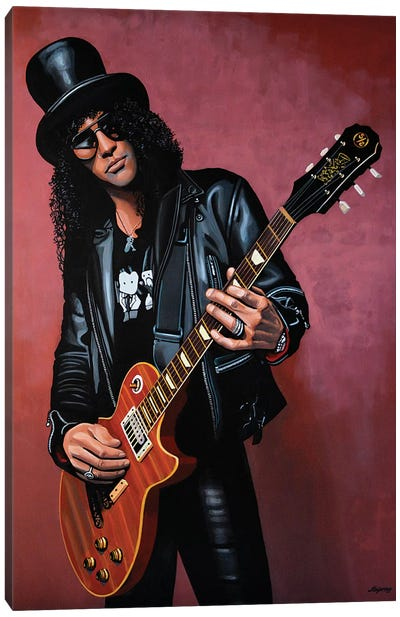 Slash Canvas Art Print