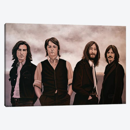 The Beatles Canvas Print #PME144} by Paul Meijering Canvas Print