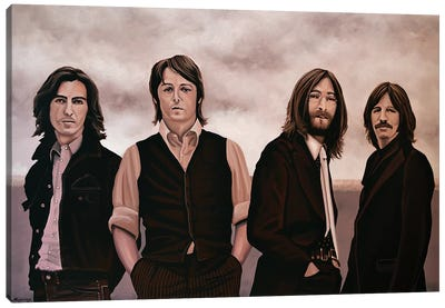 The Beatles Canvas Art Print