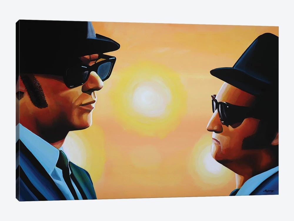 The Blues Brothers by Paul Meijering 1-piece Canvas Artwork