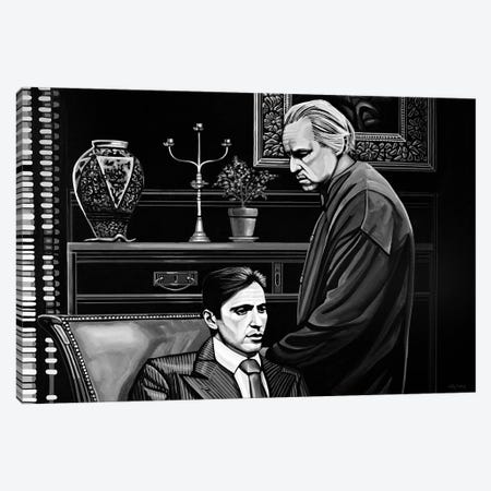 The Godfather Canvas Print #PME147} by Paul Meijering Canvas Print