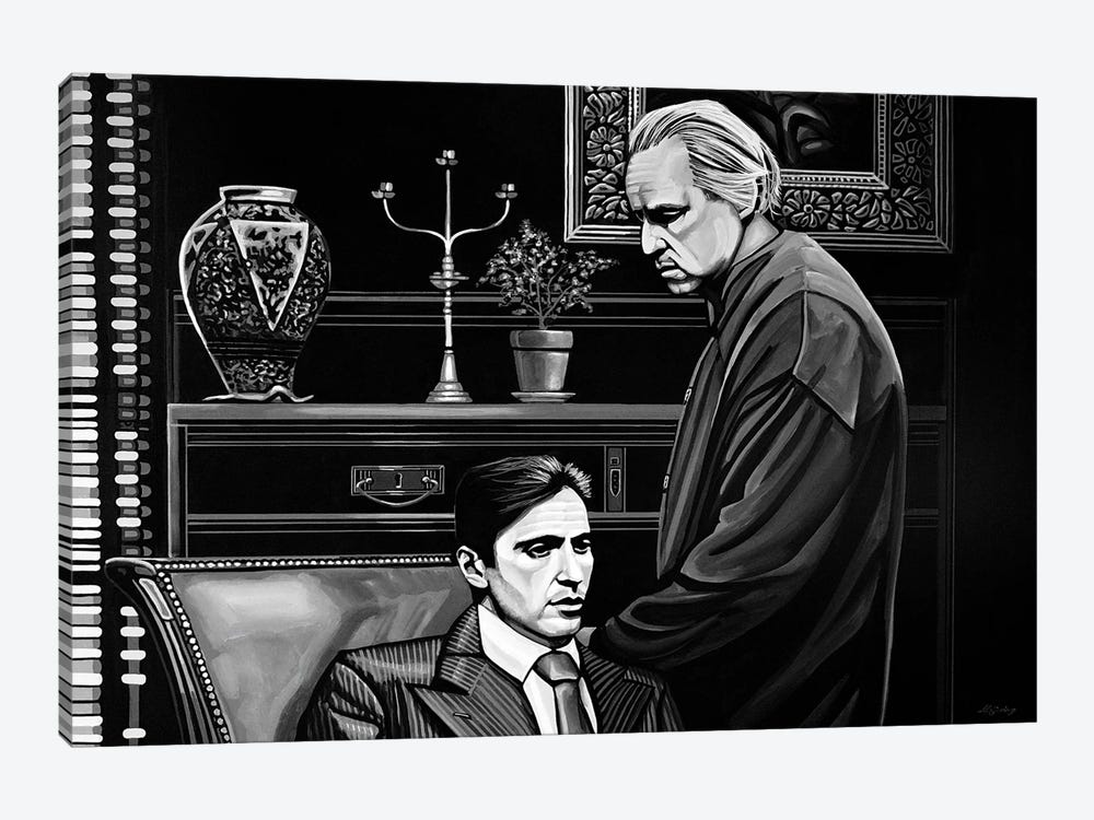 The Godfather by Paul Meijering 1-piece Canvas Print