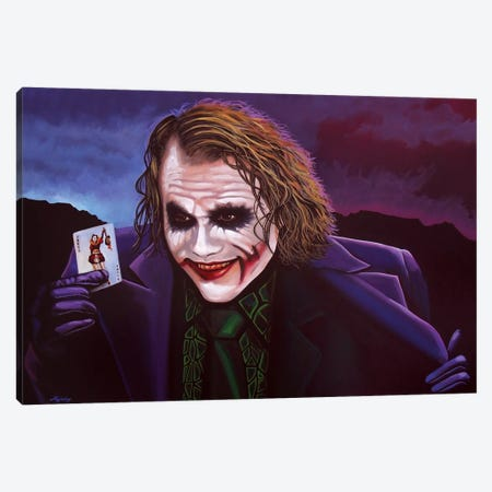 The Joker Canvas Print #PME148} by Paul Meijering Canvas Art