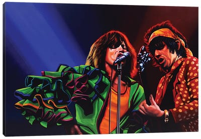 The Rolling Stones 50 Years Canvas Art Print