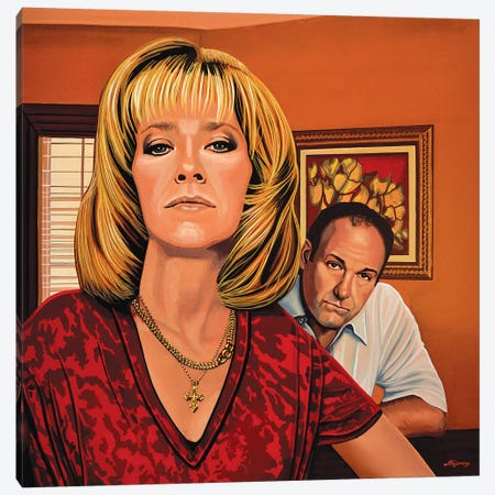 The Sopranos Canvas Print #PME151} by Paul Meijering Art Print