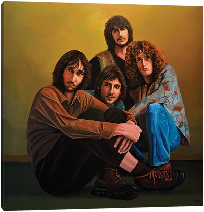 The Who Canvas Art Print