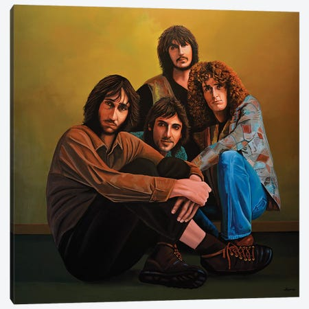 The Who 3-Piece Canvas #PME152} by Paul Meijering Canvas Print