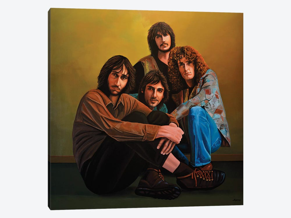 The Who by Paul Meijering 1-piece Canvas Print