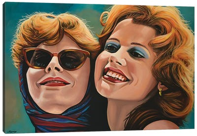 Thelma And Louise Canvas Art Print
