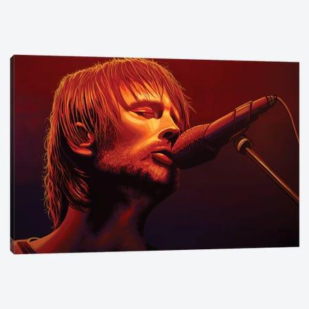 Thom Yorke Radiohead Canvas Print #PME154} by Paul Meijering Canvas Wall Art