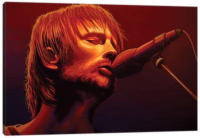 Thom Yorke Radiohead Canvas Art Print