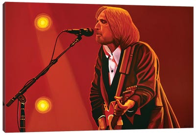 Tom Petty Canvas Art Print