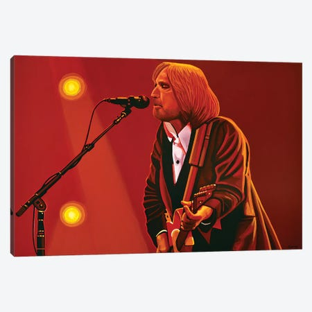 Tom Petty Canvas Print #PME155} by Paul Meijering Canvas Art