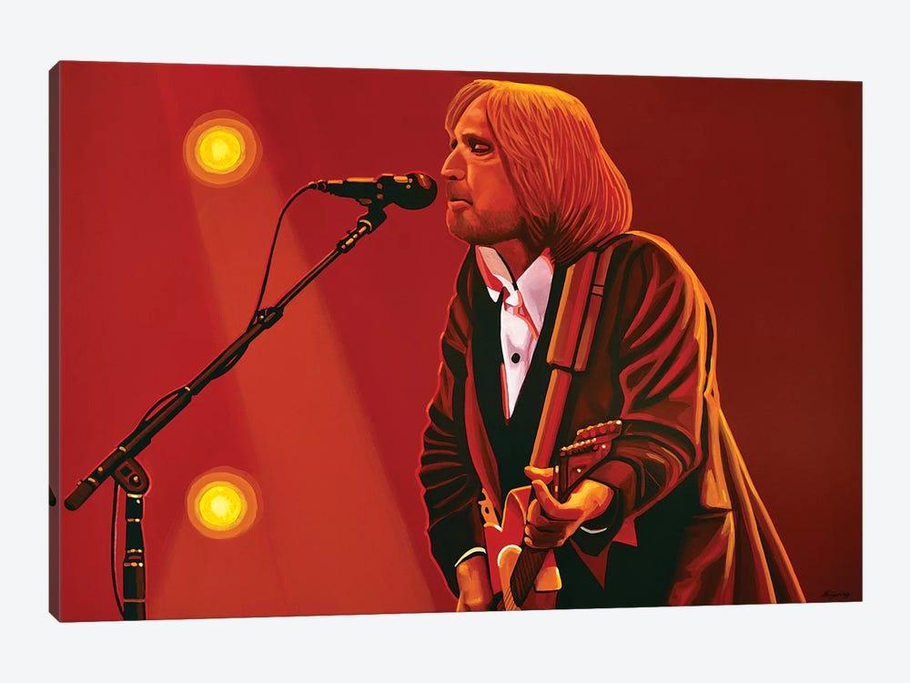 Tom Petty by Paul Meijering 1-piece Canvas Artwork