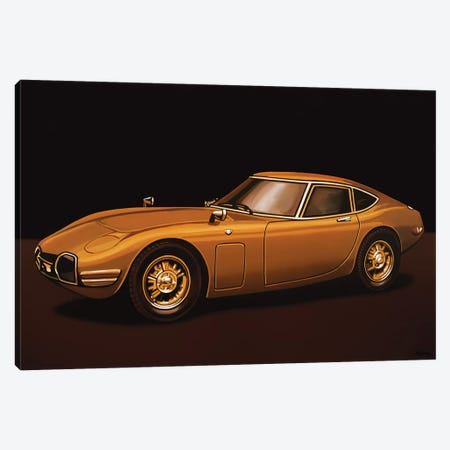 Toyota 2000Gt Canvas Print #PME156} by Paul Meijering Canvas Art