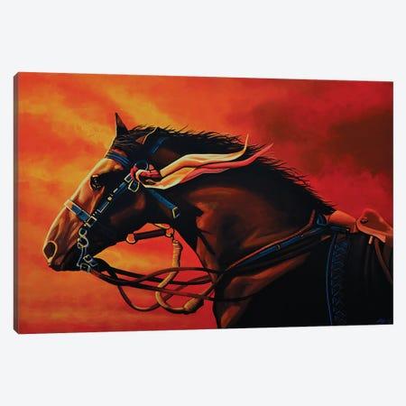 Warhorse Joey Canvas Print #PME158} by Paul Meijering Canvas Art Print