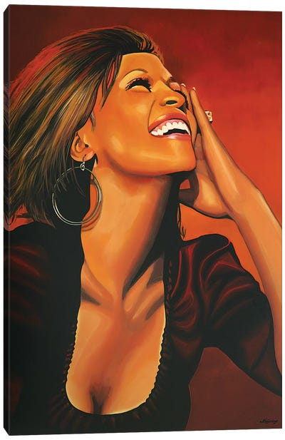 Whitney Houston I Canvas Art Print