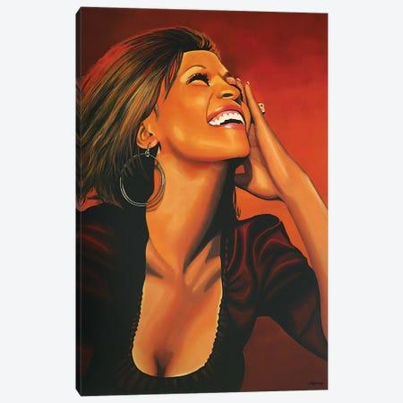 Whitney Houston I Canvas Print #PME159} by Paul Meijering Art Print